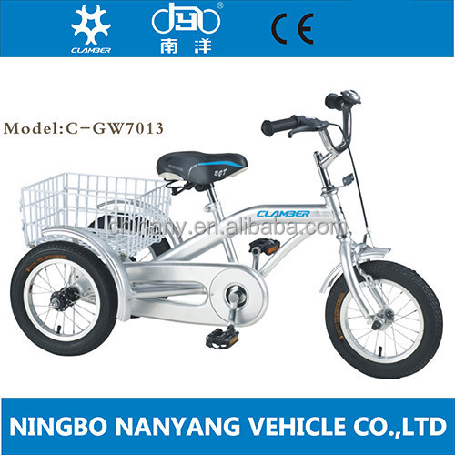 2015 new style china cargo baby tricycle / baby balance bike