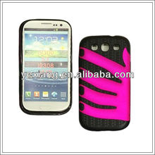 Best selling finger pattern for samsung galaxy s3 funny case