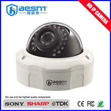 Professional wall-mounted poe ip external dome camera for sale in 2015 BS-IP37
