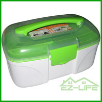 newest design factory made plastic Families fancy thermos print BPA free gather cabinet storage box