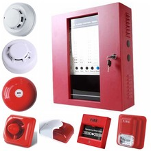 Fire alarm control module 16 zones fire panel for security alarm system