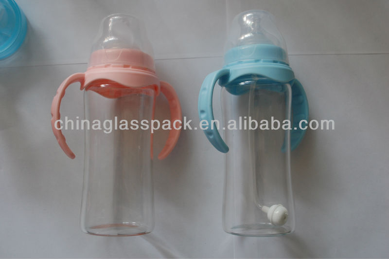 High Quality Standard Caliber Glass baby bottle