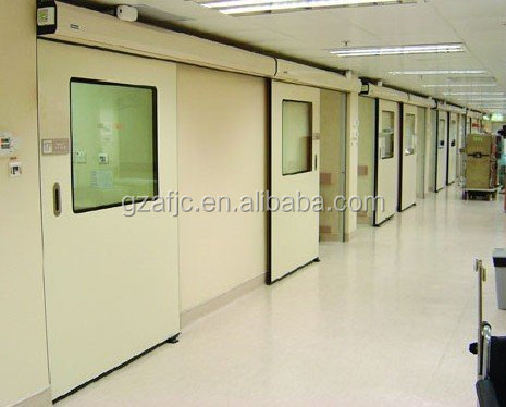 China airtight hospital door, automatic sliding door kit, operating theatre door