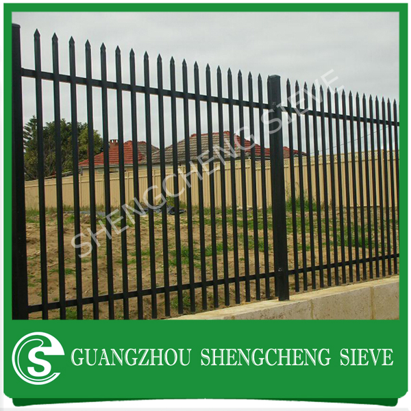 Best Price Galvanized wrought iron fence/fence panel