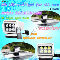 New model 7 inch 30W led working light with stron magnetic , used vehciles roof light ,spot beam led working lamp