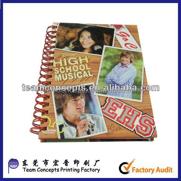 a4 exercise book hard cover