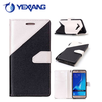 new arrival card slots leather case flip cover for samsung galaxy j5 2016 wallet case