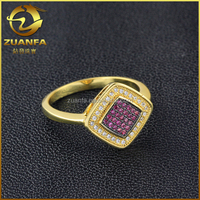 Top Quality Hot Sell Zircon Ring