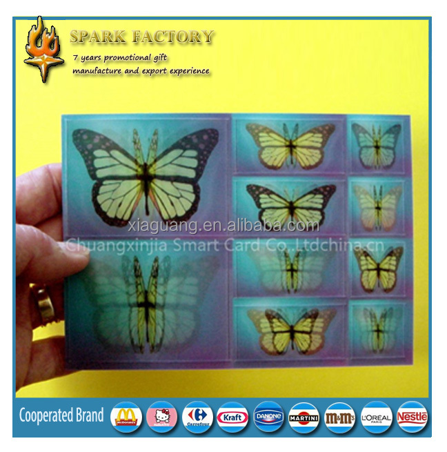 Hot Sell 3d magic lenticular printing (different images change)
