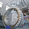 API 609 Triple Offset Double Flanged Metal Seated Butterfly Valve