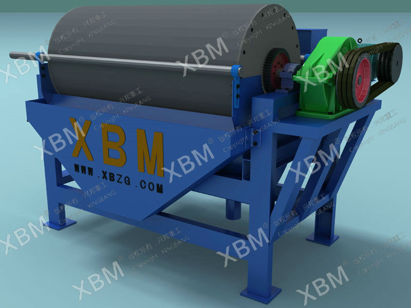 Iron Ore and Chromite Ore dressing Line Use Magnetic Separators