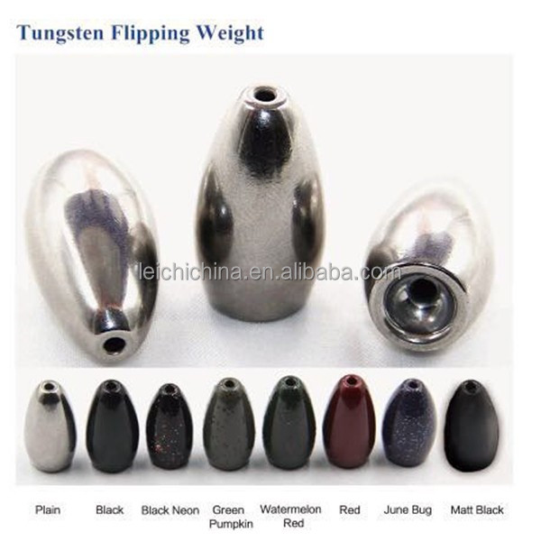 wholesale bass fishing tungsten fishing weights