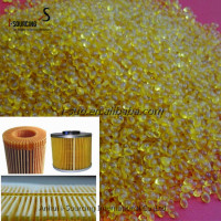 eco-friendly transparent yellow hot melt glue for air filter