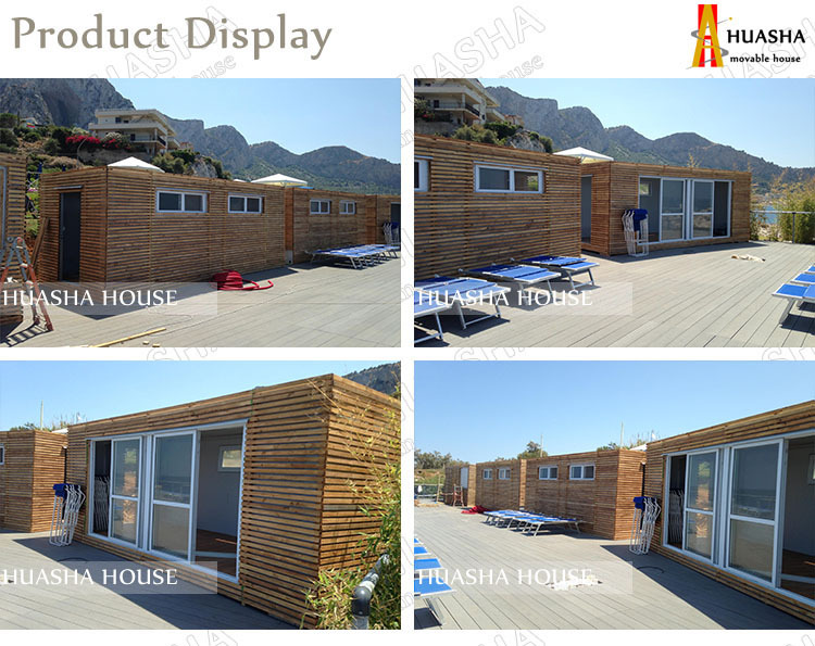 The flat pack transportable holiday homes for sale