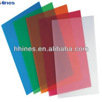 colorful pp file folder