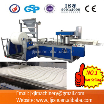 JL-Z600 Cloth Folding and Slitting Machine