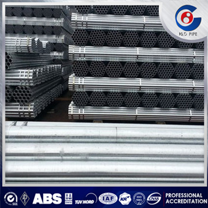 ASTM A53 schedule 20 galvanized steel pipe