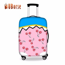 personalized suitcase cover cheap waterproof custom durable luggage cover protector