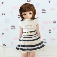 80257A fashion dress frock design for baby girl tutu dress made in china