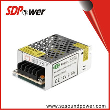1-50w output power and dc single output type 9v 2.5a adapter for power supply