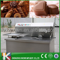 Multi-function 8/15/30 kg per hour Chocolate Melting/Tempering/Coating Machine