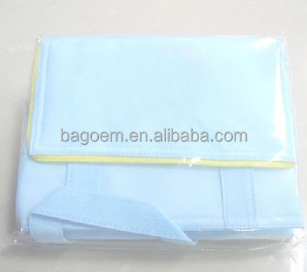 fashion reusable plastic bags for hair extensions