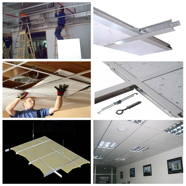 Suspended ceiling tile clips