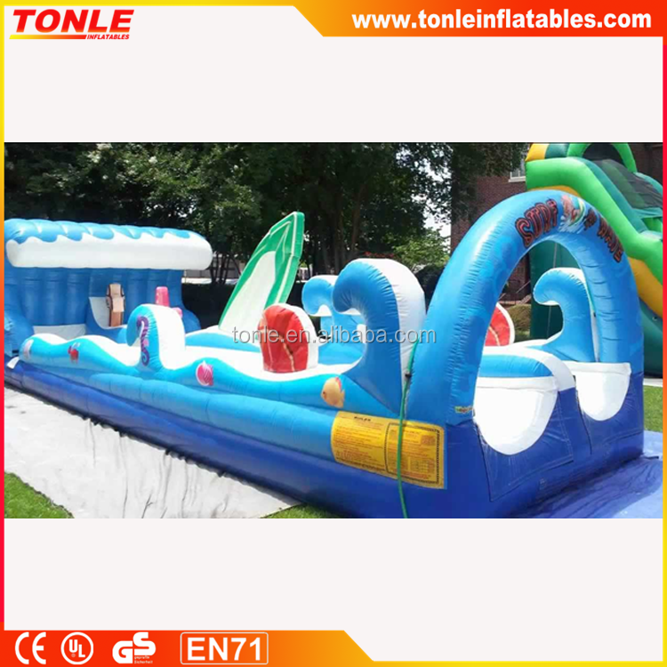 Most popular Surf the Wave inflatable double lane Slip n' Slide for sale