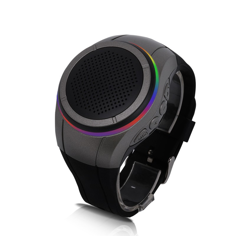 Wrist Watch Style Bluetooth Speaker Sports Wireless Audio Stereo Sound Box with Mic For Iphone 6 plus Note 4 LG G4 Ipad