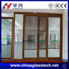 water resistance Excellent sound insulation UV resistant multi sliding glass door