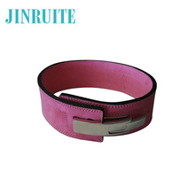 Multi Colors Option Bodybuilding Leather Weight Lifting Belt