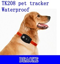 worlds smallest waterproof free IOS Android cell phone gps tracking onine pet tracker gps
