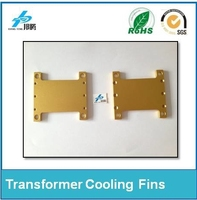 Factory Price Custom Heat Sink Aluminum Sheet For Planar Transformer Electrical Cooling Fins