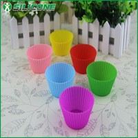 As seen as on TV hot sale eco products silicone cupcake form
