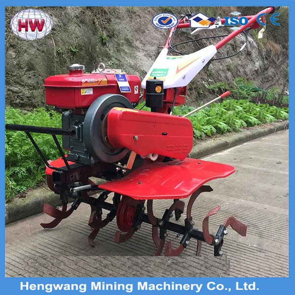 To Two Wheel Tractor Rototiller : Hengwang diesel tractor tiller cultivator two wheel