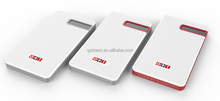 Wireless thinnest smart powerbank with real capacity 6600mah