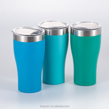 Everich/Kingvac Eco-friendly stainless steel coffee tumbler double wall vacuum travel mug for car or office use
