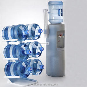 6 Buckets floor standing 5 gallon water bottle storage rack