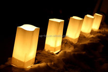 Best quality cheapest price candle bag colored luminary candle bags