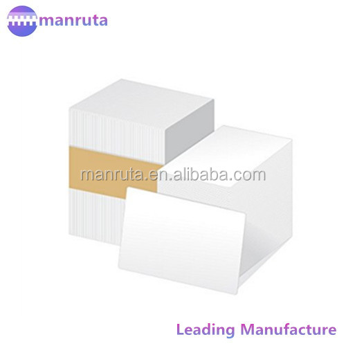 CR80 pvc blank white ID <strong>card</strong> for inkjet printing in stock cheapest cost