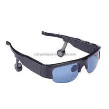 smart wireless waterproof bone conduction bluetooth headset sunglass phone with bluetooth