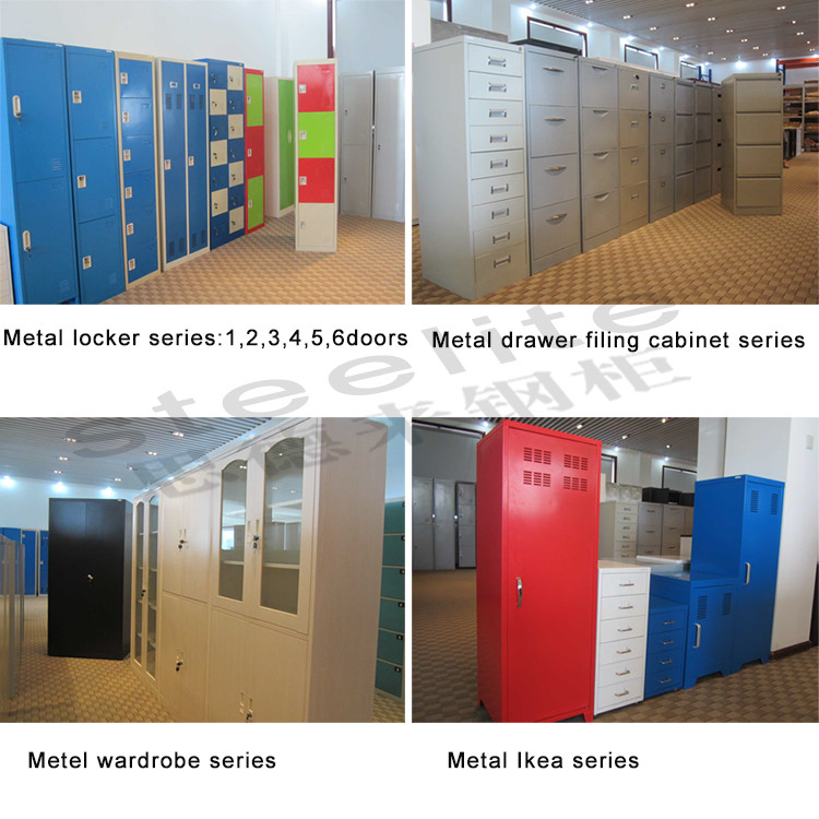 China Steelite Made KD Office Furniture Steel Cabinet Cheap Storage Cabinet Office Cabinet