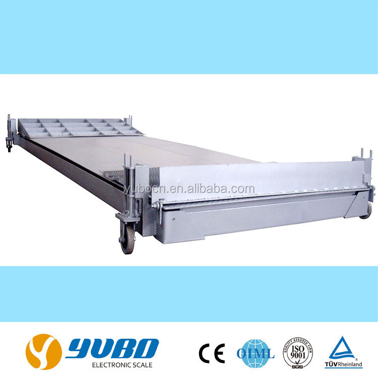 60 Ton electronic vehicle weighing weigh bridge