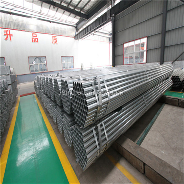 Standard Length GI Steel Pipe for Warehouse Building Material