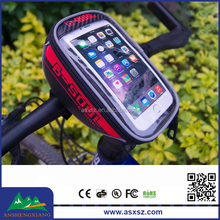 Hot Sale Outdoor Cycling Waterproof Bike Bag With Mobile Phone Screen Touch Bicycle Bag