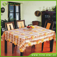 Latest Arrival attractive style round table cloth directly sale