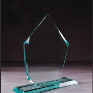 Best selling blank crystal glass award for business gift