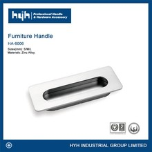 Reliable manufacturer high quality zinc hidden cabinet handles / concealed door handles / invisible handle