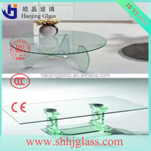 Safety Decorative Bubble Glass Panels For Glass Table Top