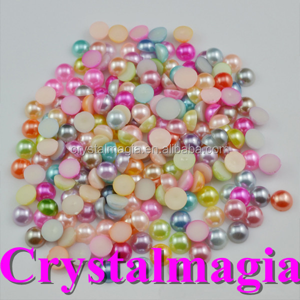 wholesale mixed color mixed packing 2mm pearl